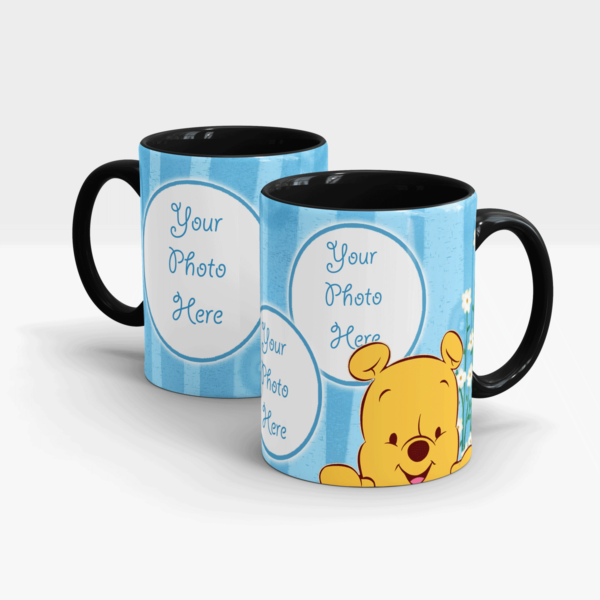 Custom Printed Mug-Black