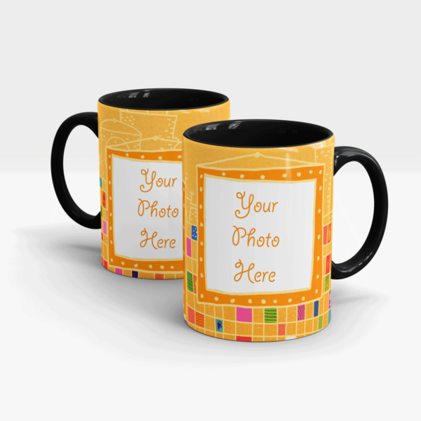 Gold Series Customized Mug-Black