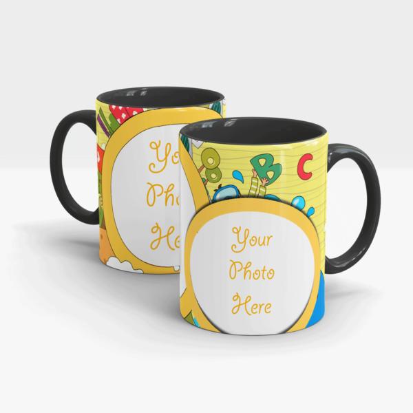 ABC Custom Gift Mug-Black