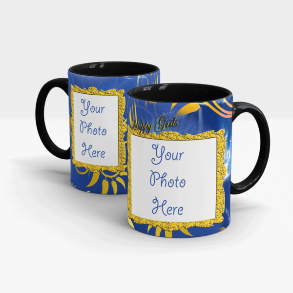 Special Personalized Gift Mug for Daughters-Black