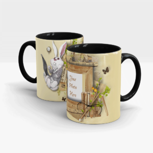 Reminiscence Series Custom Gift mug-Black