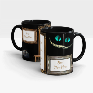 Cats' Series Custom Printed Mug-Black