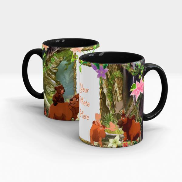 Jungle Book Personalized Mug-Black