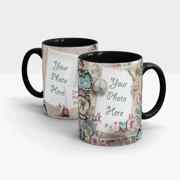 Personalized Gift Mug-Black