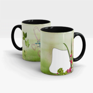 Personalized Gift Mug for Your Special One-Black