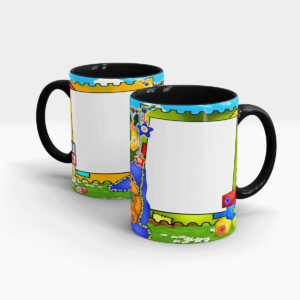 Personalized Photo Mugs for Kids-Black