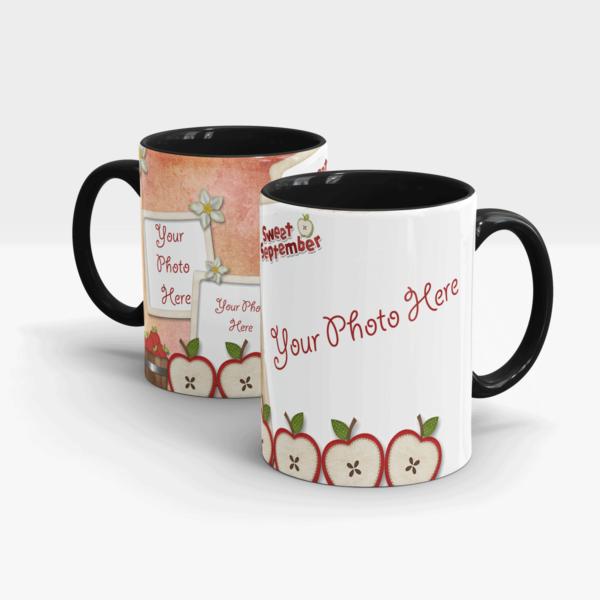 Sweet September Gift Mug-Black