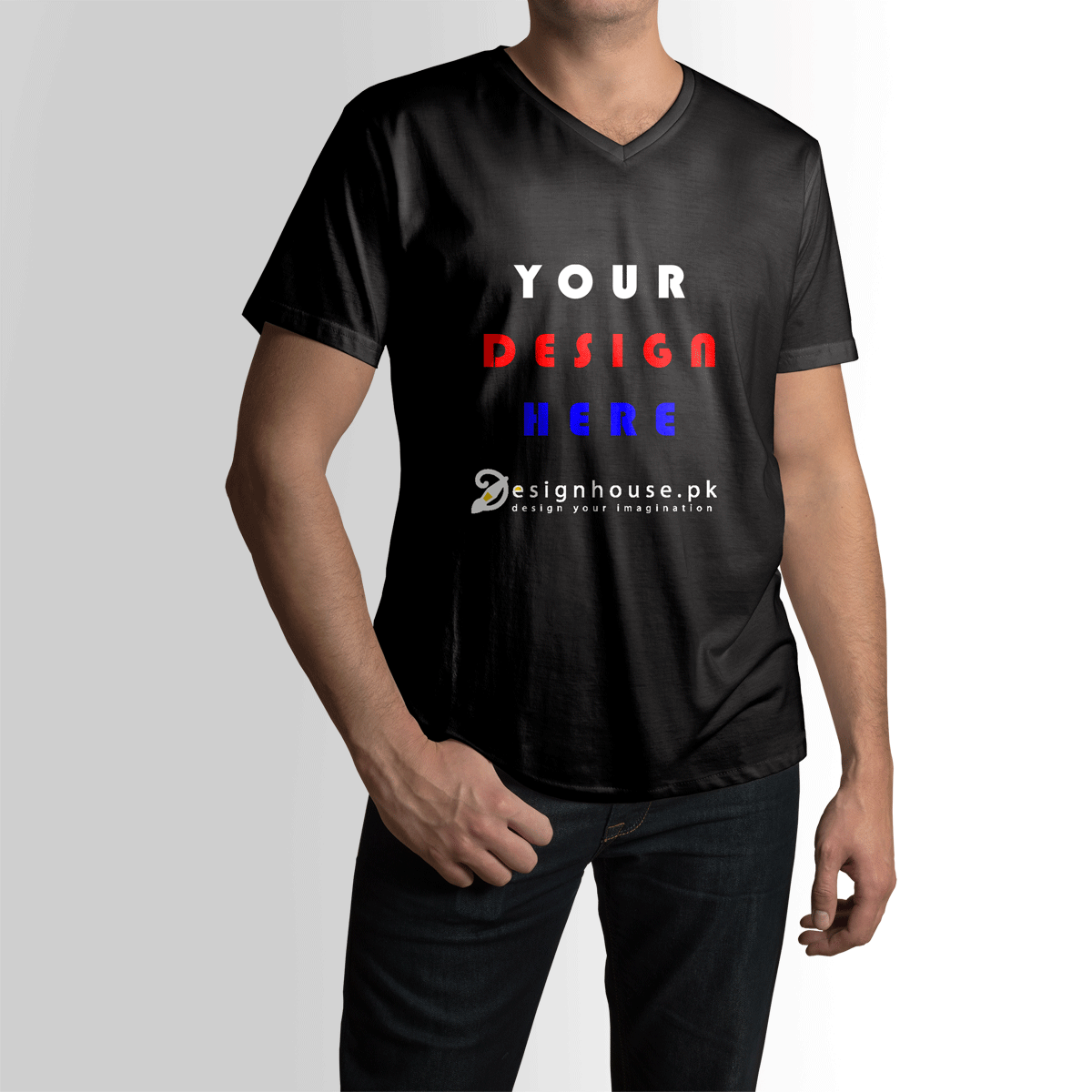 Design Your Own Shirts Online: Custom High Quality Cotton T Shirt For Men