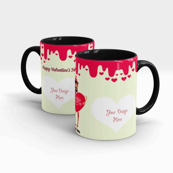 Special Valentine's Day Gift Mug for Boys-Black