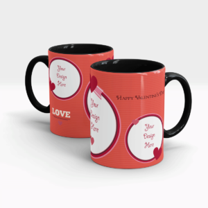 Valentine's Day Gift Mug for Your Special one-Black