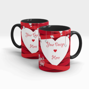 Valentine's Day Personalized Gift Mug for Your Significant Other-Black