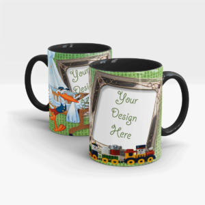 Special Series of Customized Mugs for Kids-Black