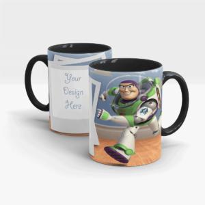 Toy Story's Custom Printed Gift Mug-Black
