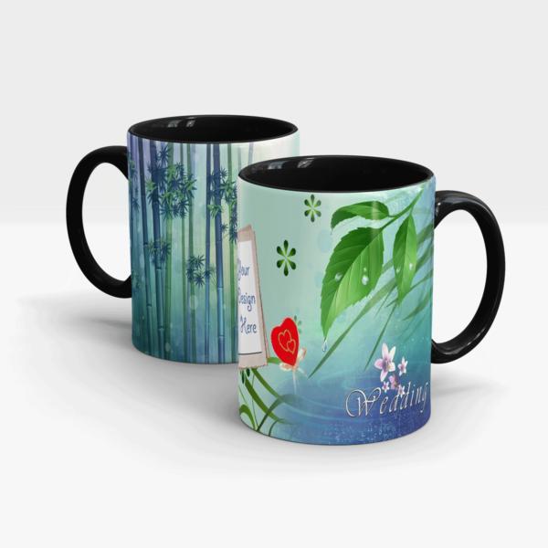 Marriage Gift Mug-Black