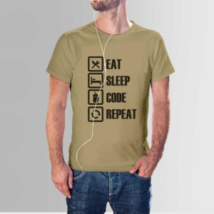 Design Your Own Programmer T Shirts Khaki