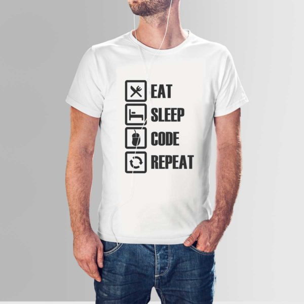 Design Your Own Programmer T Shirts White