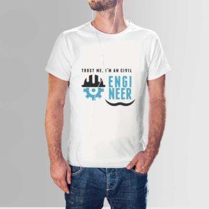 I am Engineer T Shirt White