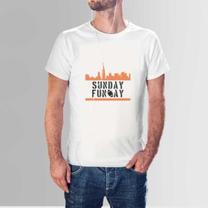 Sunday Funday T Shirt White