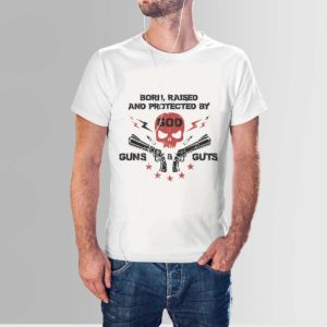 Gods Guns and Guts T Shirt White