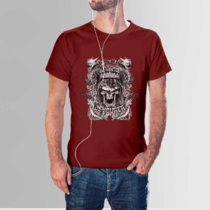 Design Your Own T-Shirt Devourer Maroon