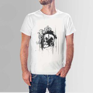 Skull T Shirt White