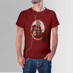Gladiator T Shirt Maroon