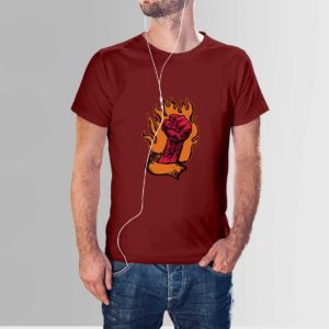 Fire Punch T Shirt Red