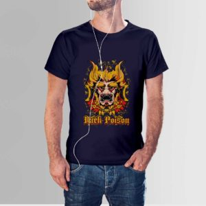 Dark Poison T Shirt Navy Blue