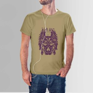 War Inc Mens T Shirt Khaki
