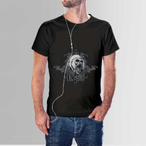 King Of The Hood T Shirt Black