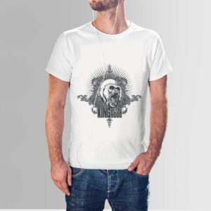 King Of The Hood T Shirt White