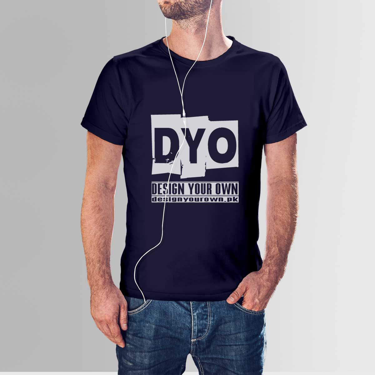 Design your own high quality cotton t shirt for men crew for Design your own t shirt at home