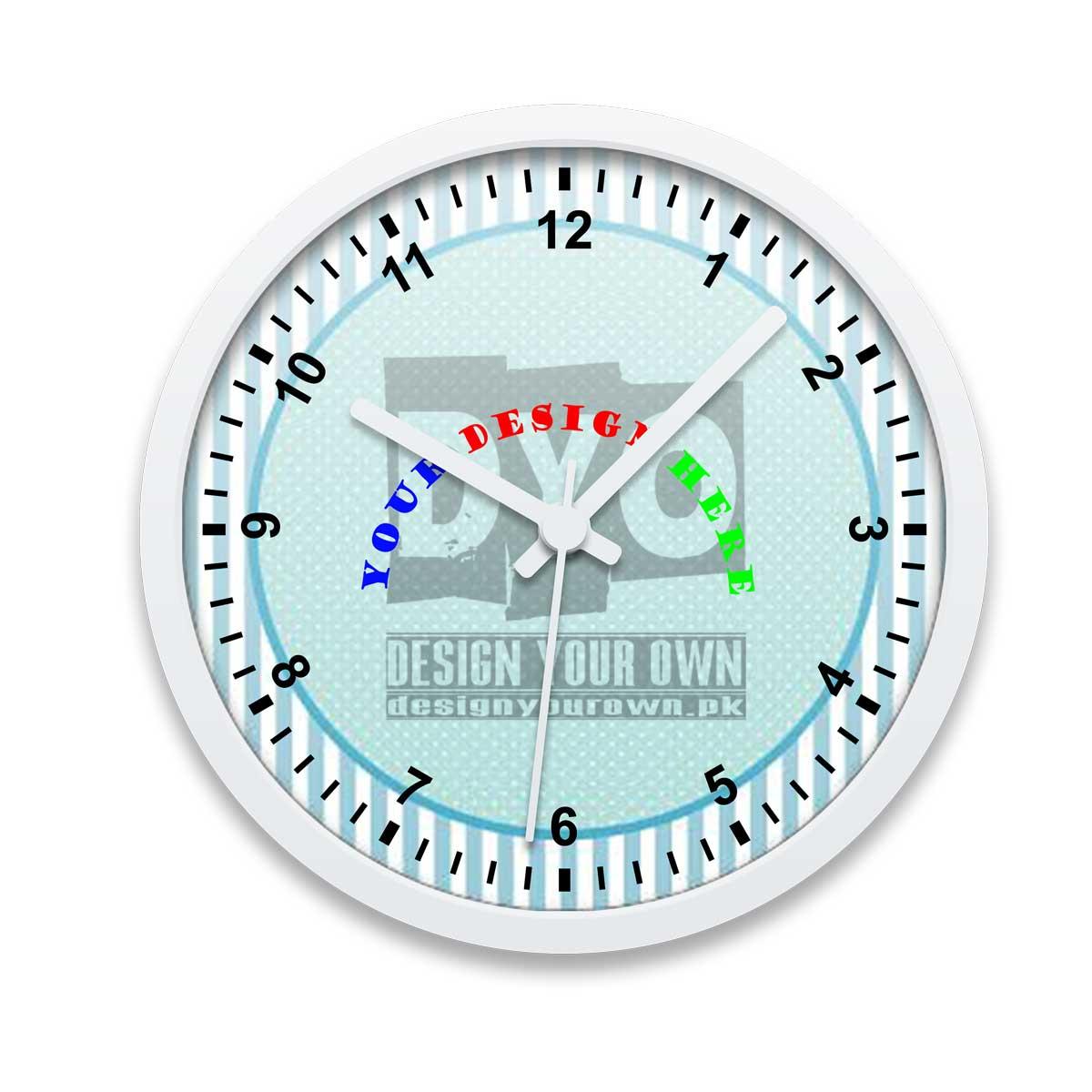 Customizable Gift Wall Clock Design Your Own Pakistan