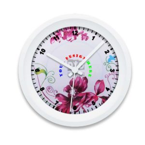 Custom Printed Gift Wall Clock