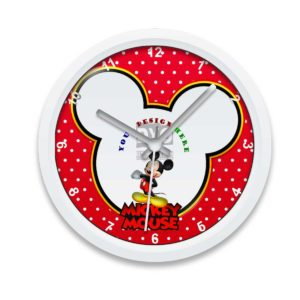 Mickey Mouse design your own gift for friend wall clock
