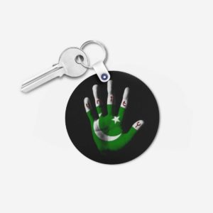 Pakistani key chain 15 -Round