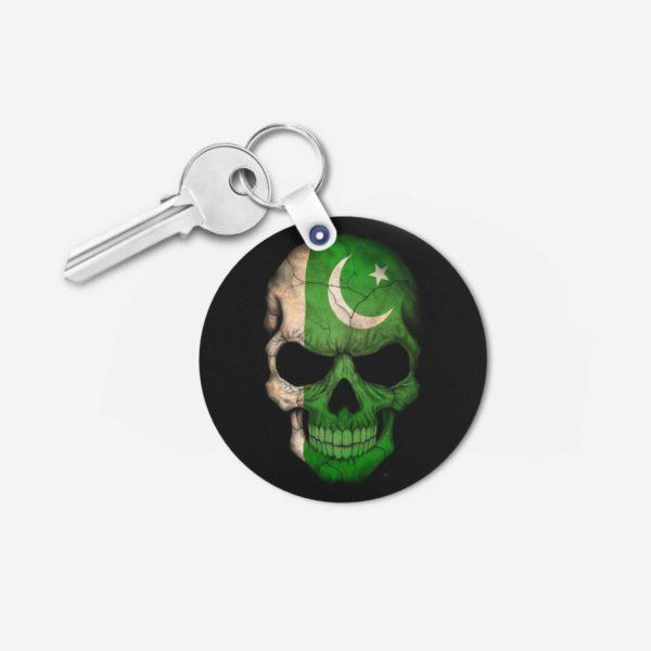 Pakistan key chain 3-Round