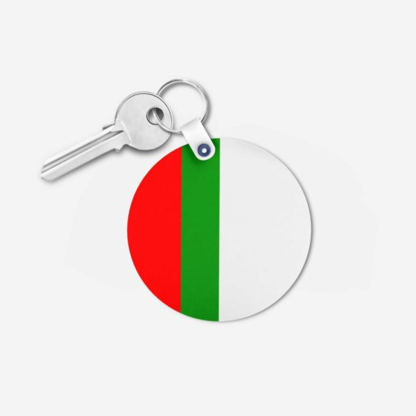 MQM key chain 2 -Round
