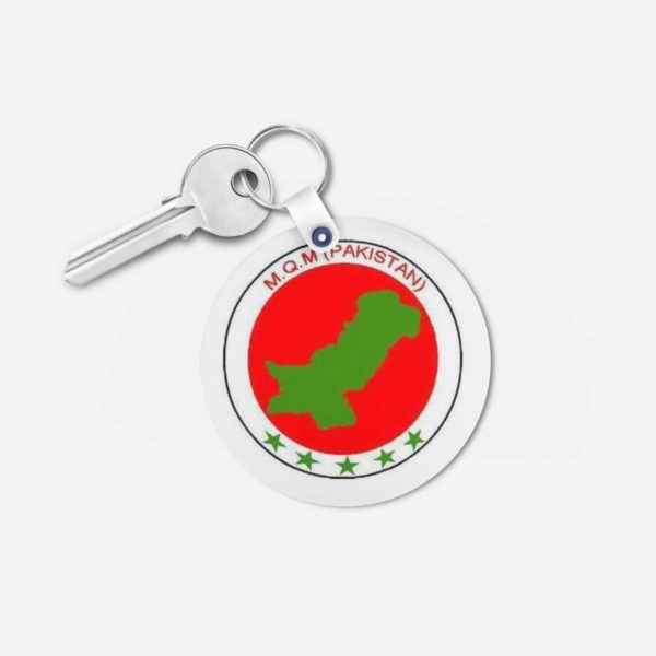 MQM key chain 3 -Round