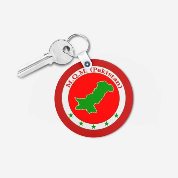 MQM key chain 4 -Round