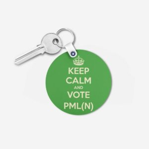 PML key chain 6 -Round
