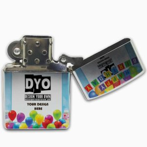 Zippo Style Windproof Customized Birthday Gift Lighter