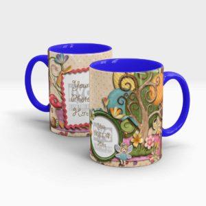 Fairy's Garden Custom Birthday Gift for Kids Mug