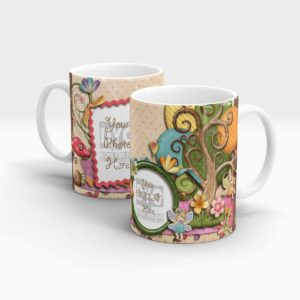 Fairy's Garden Custom Birthday Gift for Kids Mug