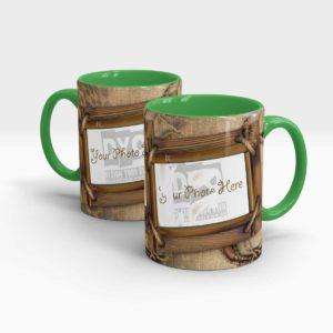 Cheetah Themed Customized Coffee Mug