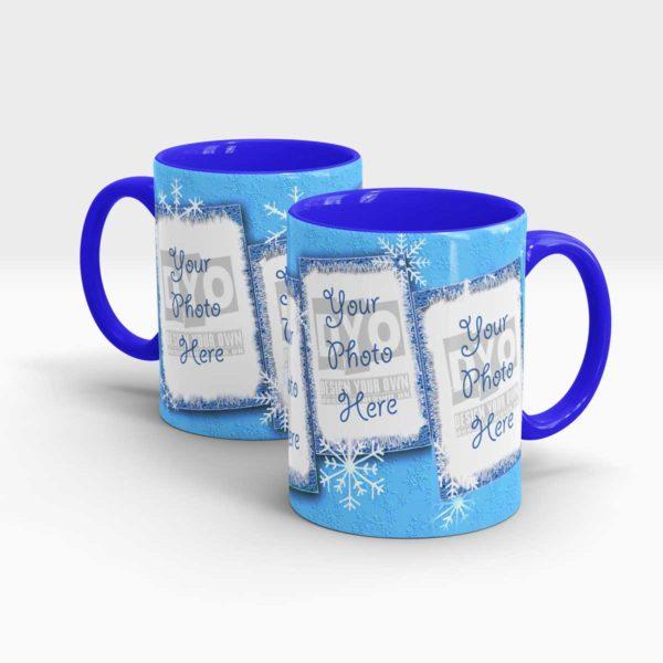 Snowflakes Cool Coffee Mug