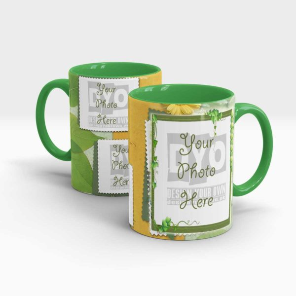 Plant themed Custom Coffee Mug