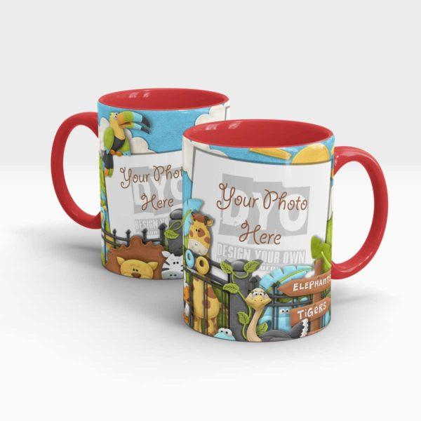 Animal Zoo Custom Mug
