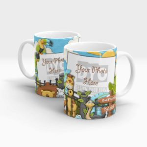 Animal Zoo Custom Mug