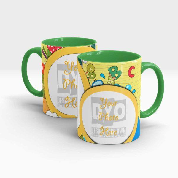 ABC Custom Gift Mug For Kids